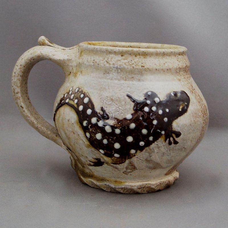 Morris Pottery Salamander Mug